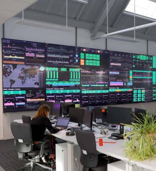 Centre de contrôle d'un système global e-commerce