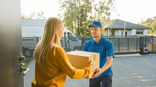 Livraison à domicile des produits commandés sur internet